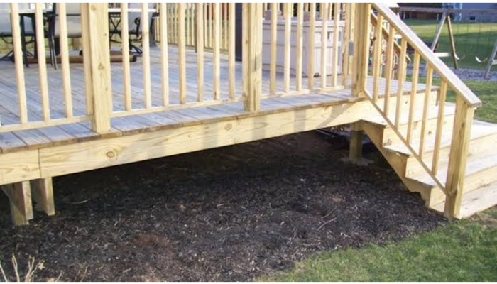 Quick and easy DIY Pressure Treated Wood Deck Skirting Ideas
